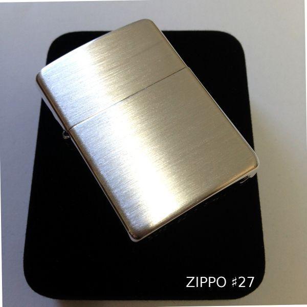 【ジッポ アーマー スターリングシルバー つや消し】 こちらもシンプルで... ジッポ zipp